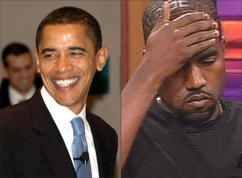 Barack Obama et Kanye West