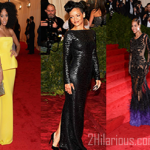 Rihanna et Beyonce au Met Gala