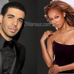 Drake et Tyra Banks ensemble à DisneyLand
