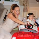 Mariah Carey POSTE des photos de la fête du premier anniversaire de ses Bébés