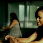 """Meagan Good et 50 Cent dans """"21 questions"""""""