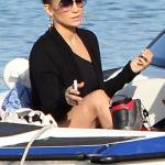 Jennifer Lopez passe du bon temps sous le soleil à Rio de Janeiro