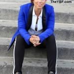 Alicia Keys fait une nouvelle pub pour Reebok à New York