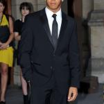 Lewis Hamilton à une soirée de gala à Londres