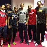 L'équipe de basket-ball américaine masculine prête à en découdre pour une nouvelle médaille d'or olympique