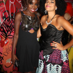 Estelle et DJ Rashida à la Fashion Night Out