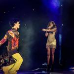 """Jennifer Hudson et Prince sur scène au """"Welcome 2 Tour"""" à Chicago"""