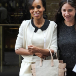 "Kerry Washington fait la promotion de la série ""scandals"""