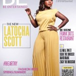 Latocha Scott fait la couverture de BE Magazine