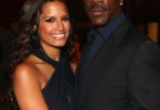 Rocsi Diaz and boyfriend Eddie Murphy at BET CEO Debra Lee Diner
