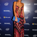 "Chanel Iman, à la perfection, s'est rendu à l'évènement ""Discovered Inspired by Intel"""