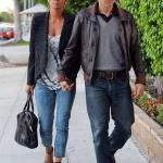 Halle Berry et son fiancé Oliver Martinez, sortis pour un dîner en amoureux