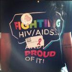 Karrueche participe à un évènement pour la lutte contre le SIDA