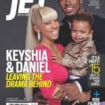 La famille de Keyshia Cole pose pour Jet Magazine