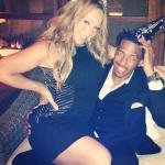 """Nick Cannon fête ses 32 ans en compagnie de la belle Mariah """"Mimi"""" Carey"""
