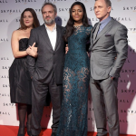 """Avant-première du film 077 """"SkyFall"""" avec Daniel Craig et Naomie Harris"""