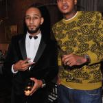 """Swizz Beatz et Carmelo Anthony en charge à l'évènement """"Haute Living Honors"""" pour Louis XIII"""