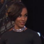 Alicia Keys performe chez Jimmy Kimmel Live
