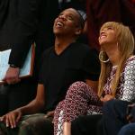 Beyonce et Jay-Z savourent le match des Brooklyn Nets