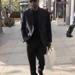 Chris Rock fait du shopping à The Grove