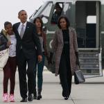 La famille Obama est de retour à Washington DC à la Maison Blanche
