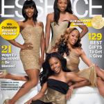Les championnes olympiques Carmelita Jeter, Sanya Richards-Ross, Allyson Felix et Gabrielle Douglas font la une de Essence Magazine