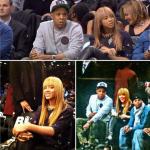 Jay-Z et Beyonce sont allés encourager les Brooklyn Nets face aux Knicks de New York