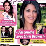 Ayem Nour affirme avoir eu des rapports avec Chris Brown