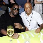 Diddy et Russell Simmons prennent un pot à St Barth