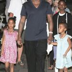 Diddy et ses enfants embarque à bord d'un yacht pour St Barth
