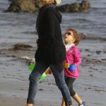 Halle Berry et Nahla ont passé du temps à la plage et ont rejoint Oliviez Martinez
