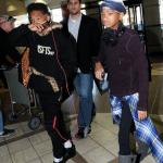 Jaden et Willow Smith étaient ensemble à l'aéroport de LA
