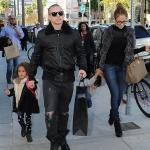 Jennifer Lopez, Casper et les enfants font du shopping à Beverly Hills