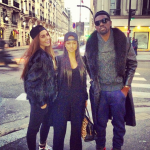 Karrueche Tran a débarqué à Paris pour être avec Chris Brown
