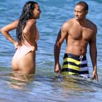 Ludacris et sa girlfriend Eudoxie passent du bon temps à Hawaii