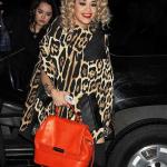 Rita Ora arrive à son concert de New York City