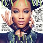 Tyra Banks fait la couverture de Bazaar Magazine