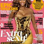 Tyra Banks fait la couverture de Cosmopolitain Afrique du Sud