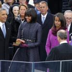 Barack Obama a officiellement prêté serment devant les américains à DC