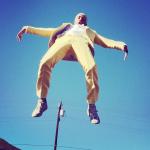 """Frank Ocean sur le plateau du tournage de son clip vidéo """"Forrest Gump"""""""