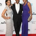 Gabrielle Union, AJ Calloway et Rocsi Diaz au bal de l'inauguration de BET