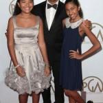 Russell Simmons et ses filles étaient aux Producers Guild Awards