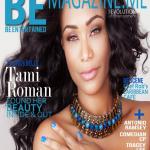 Tami Roman fait la couverture de BE Magazine