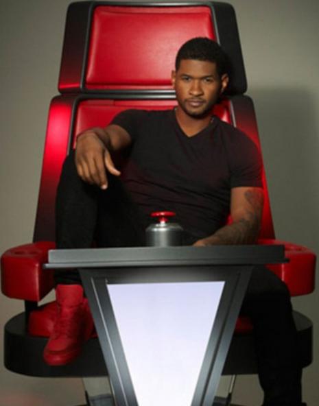 Usher 2013 The Voice Usher sera bien jury d...