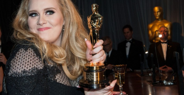 Adele at the Oscars Vanity Fair after party