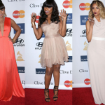 Jennifer Hudson, Ciara et Ashanti au dîner des Grammy Awards