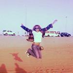 Ciara s'amuse avec ses fans à Dubai