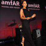 Janet Jackson honorée au gala de amfAR à New York