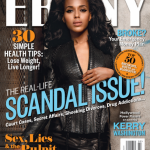 Kerry Washington fait la une de Ebony Magazine