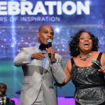 Fantasia Barrino, Kirk Franklin et Donnie McClurkin au SuperBowl Gospel Celebration